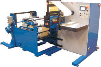 Daco HSI inspection / slitter rewinder with a 1m high capacity unwind
