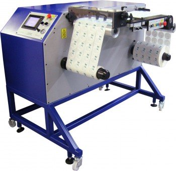 Daco DTR350-DF Label Rewinder for the finishing of digitally printed labels