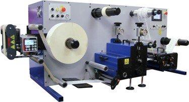 Troqueladora rotativa de mesa con troqueladora a registro DTD250R de Daco