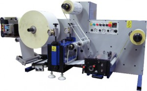 Daco DTD250 die cutter for the manufacure of plain / blank labels