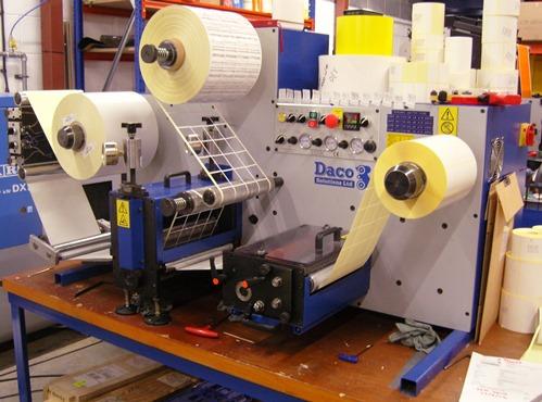 Daco DTD250 rotary die cutter