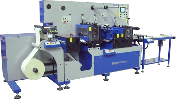 Daco D350S A3 / A4 Laser Label Production Line