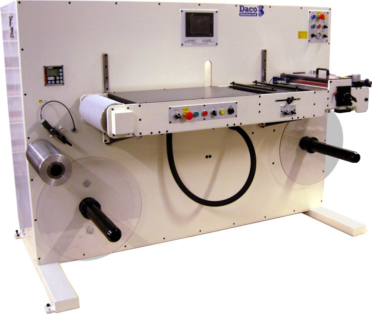Daco DTR-BK - ECL label rewinder