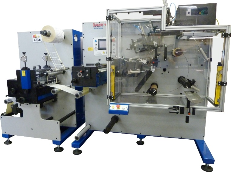 Daco SVT350 Fully Automatic Turret Rewinder