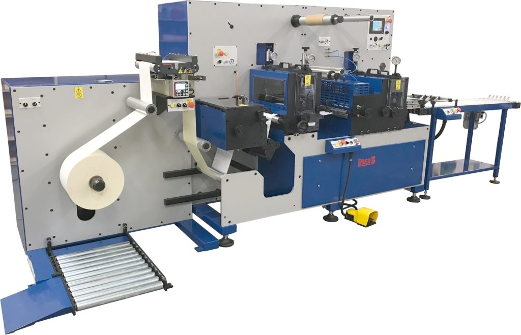 Daco D350S A4 laser label production line