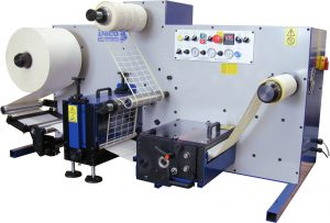 Daco DTD250 Table Top Rotary Die Cutter for blank label production